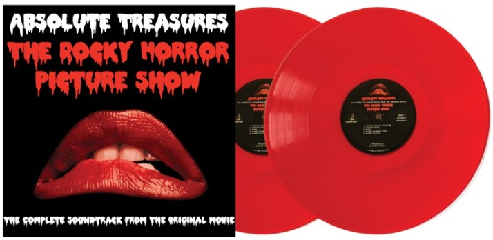 RHPS 40 Year Red Discs