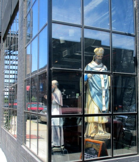 Saint in the Window