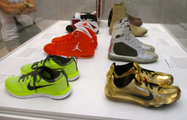 Case 1 Gold Sneakers