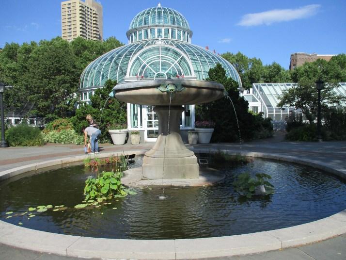 Fountain with Atrium