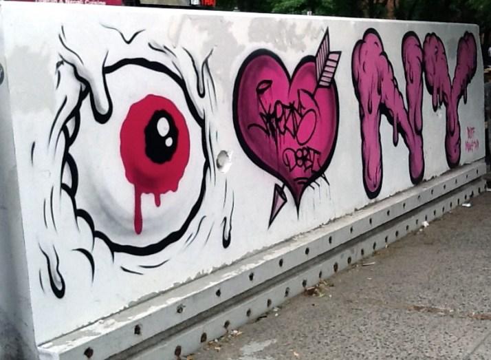Buff Monster I Love NY