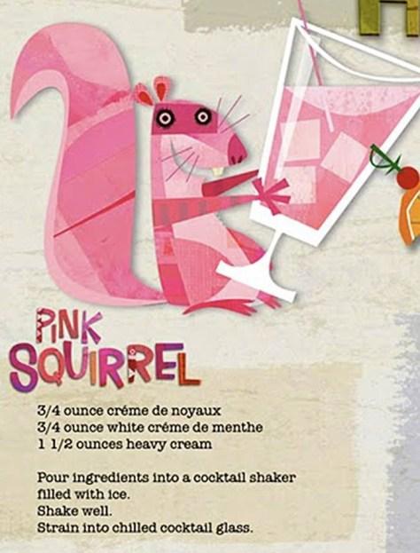 Pink Squirrel Recipe
