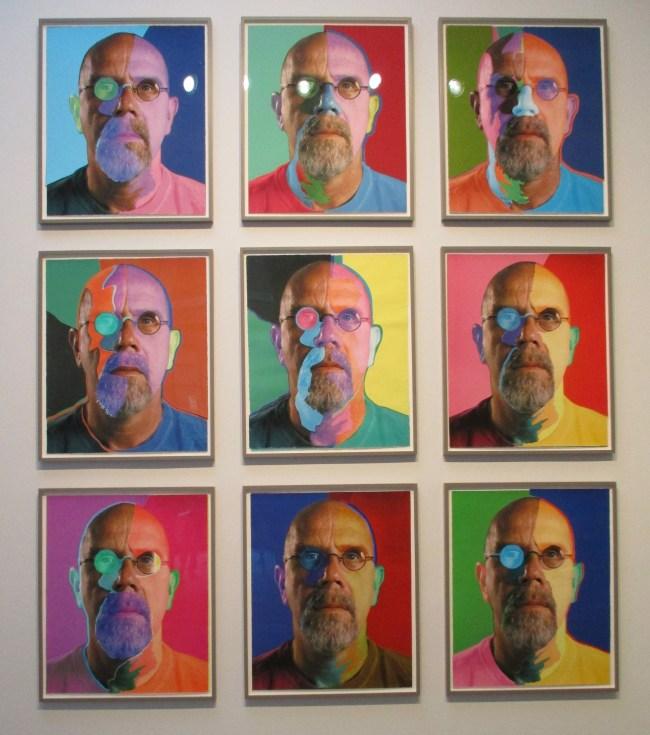Self Portrait Grid