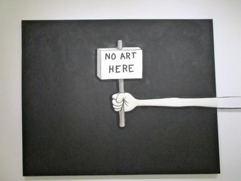 No Art Here