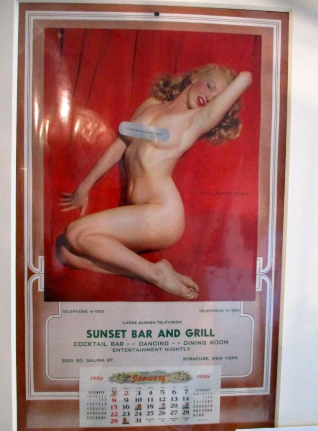 Marilyn Monroe Red Velvet Series Calendar