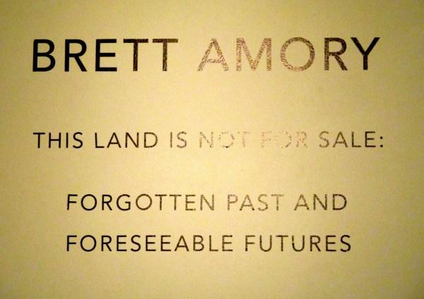 Brett Amory Signage