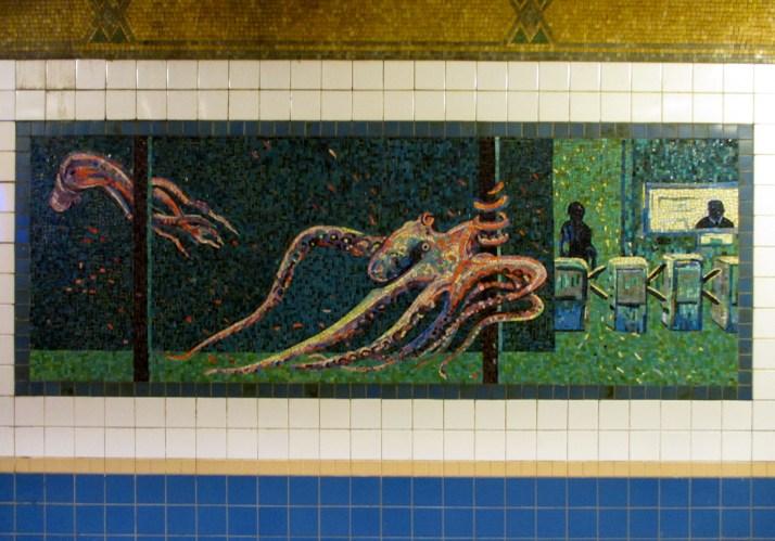Octopus Platform Diving