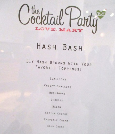 Cocktail Party Potato Bar