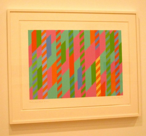 Bridget Riley Framed