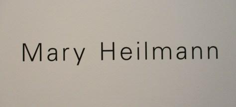 Mary Heilmann Signage