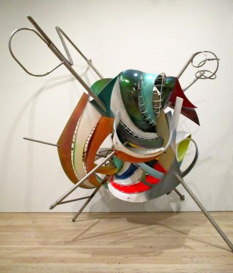 Knitting Needle Sculpture