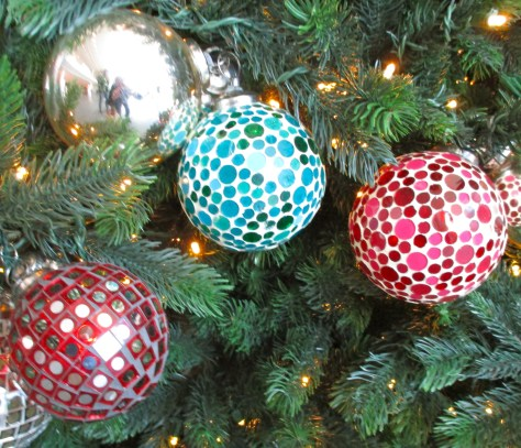 Mirrorball Ornaments 2