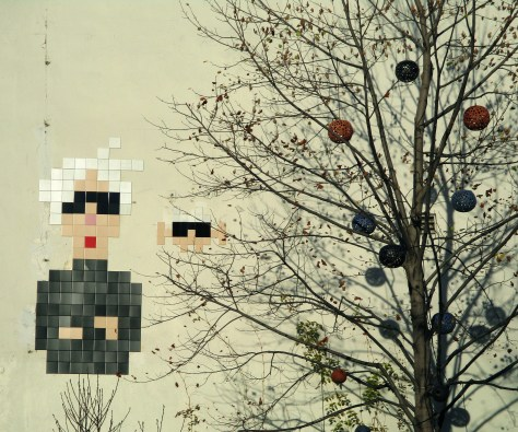 Andy Warhol By Invader