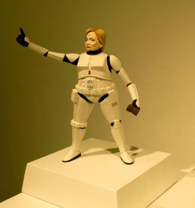 Hillary Stormtrooper