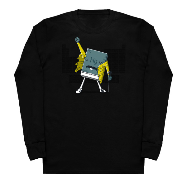 Freddie Mercury The Element Long Sleeved T