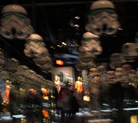 Room of Stormtrooper Helmets