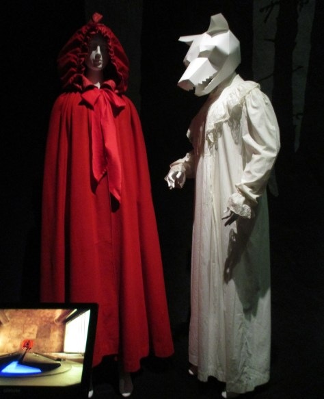 Red Cloak and White Nightdress
