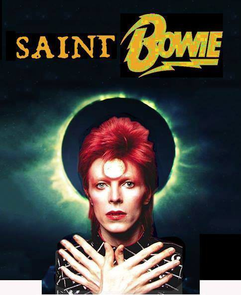 Saint Bowie Art Exhibit