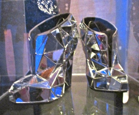 Mirrored Shoes