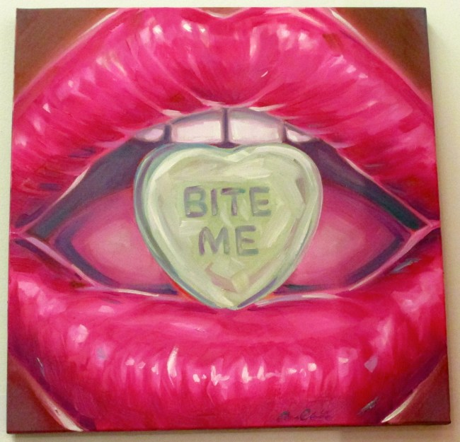 Bite Me By Angela China