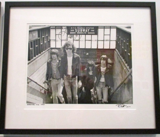 Ramones Leave Subway