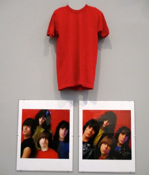 Johnny Ramone Red T Shirt
