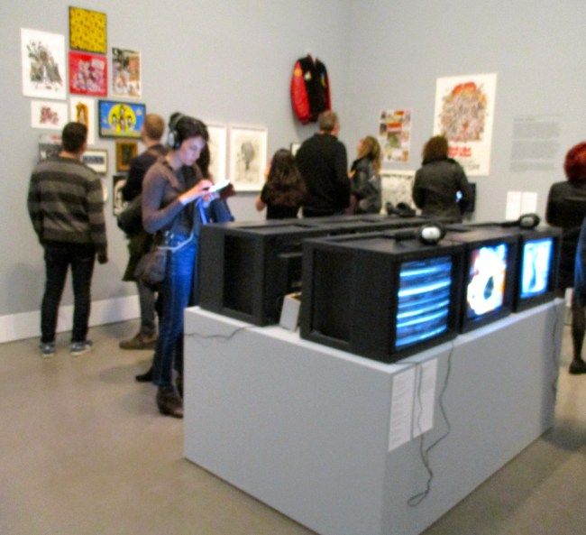 Video Room Installation View