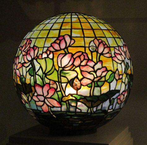 Tiffany Globe Lamp