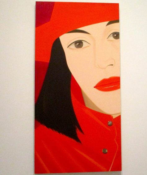 Alex Katz Red Coat