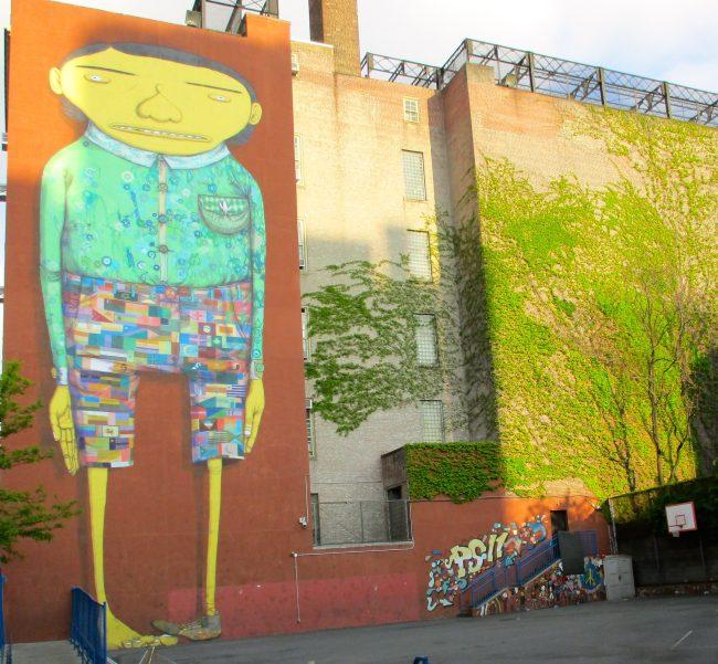 Os Gemeos and Futura Mural