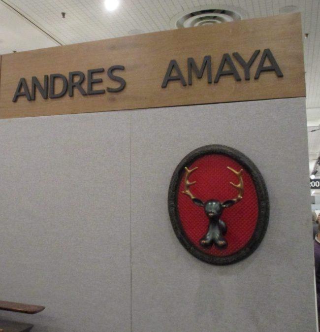 Andres Amaya Booth
