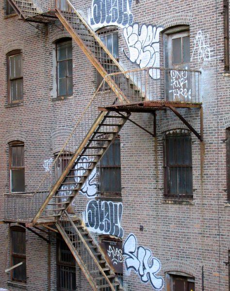 Graffiti Tags on Building