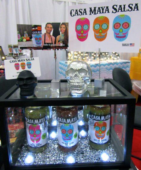 Casa Maya Salsa Display