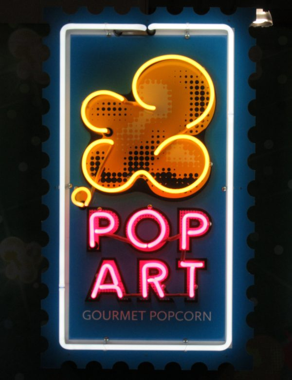 Art Pop Neon Logo