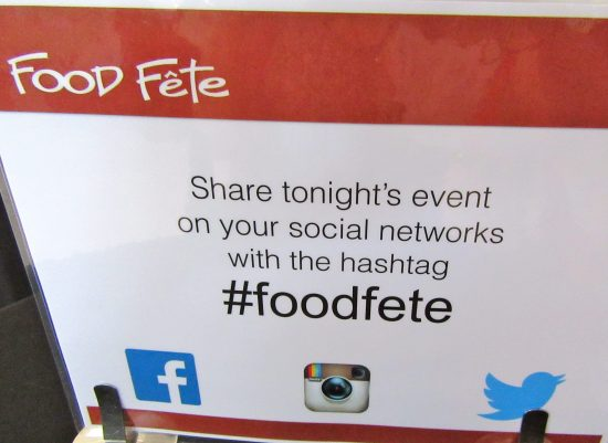 Food Fete Social Media Tags