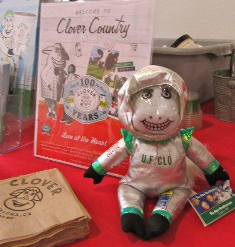 Clo the Cow Mascot