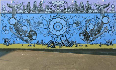 London Police Warriors Mural