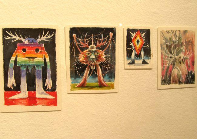 Watercolors Installation