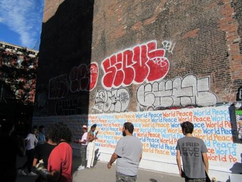 Renda Writer World Peace Mural