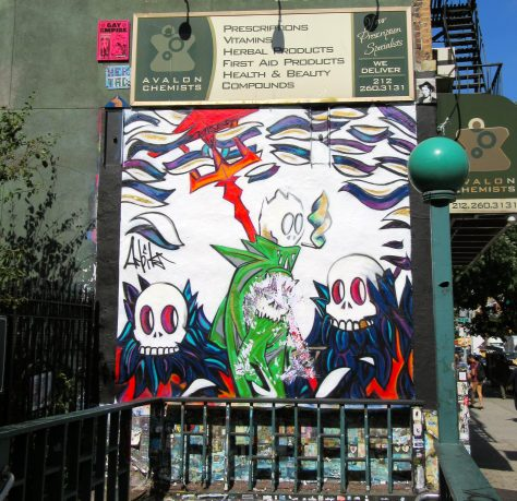 2nd Ave Subway Street Art