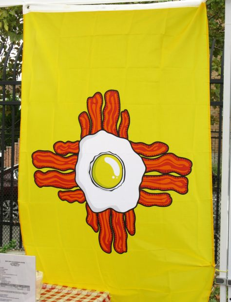 Bacon and Egg Flag