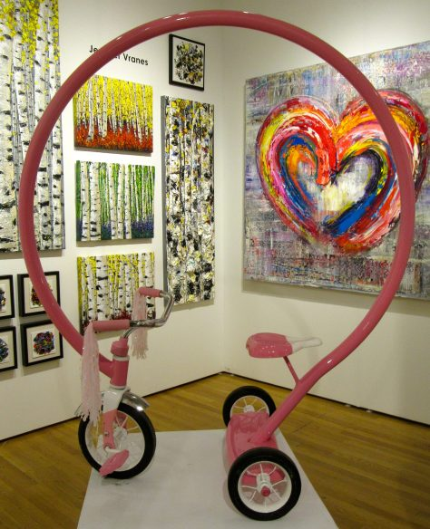 Pink Bike By Sergio Garcia