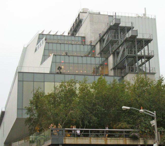 Whitney Museum Exterior Elevation