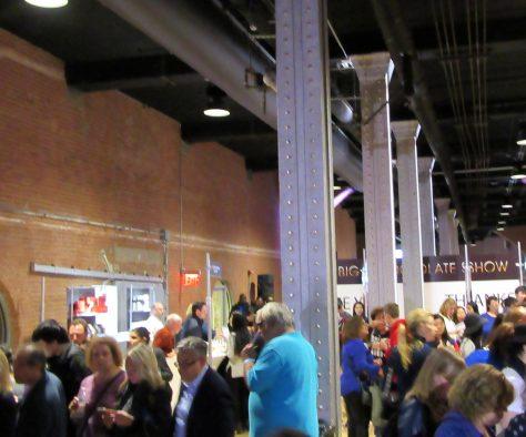Big Chocolate Show Crowd Scene