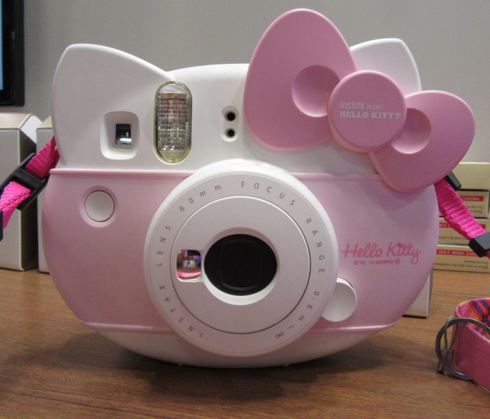Pink Hello Kitty Camera