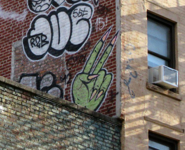 Green Monster Hand Detail