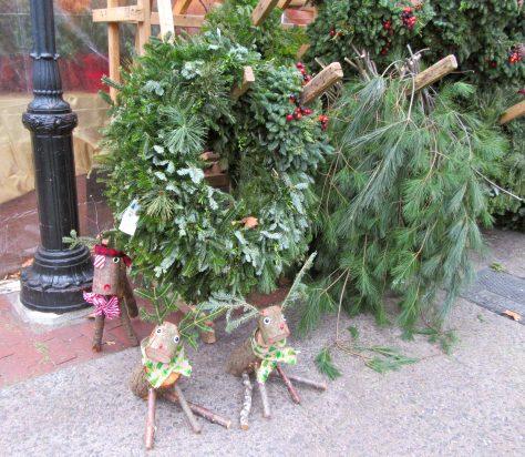Reindeer and Wreaths