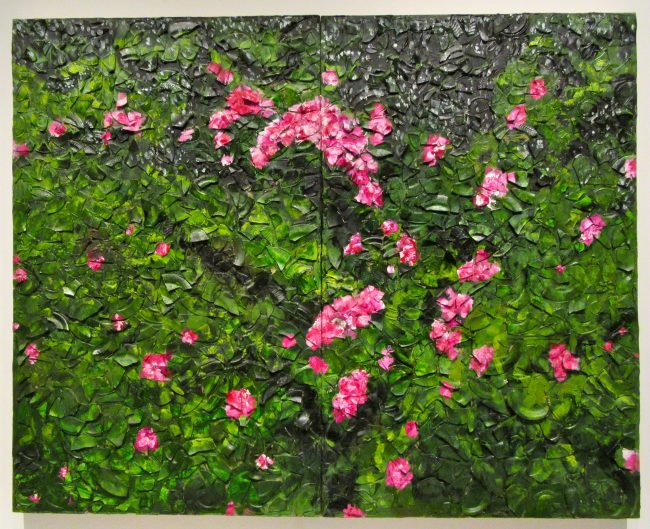Rose Painting Near Van Goghs Grave