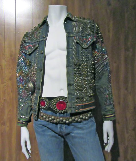 Studded Levis Denim Jacket