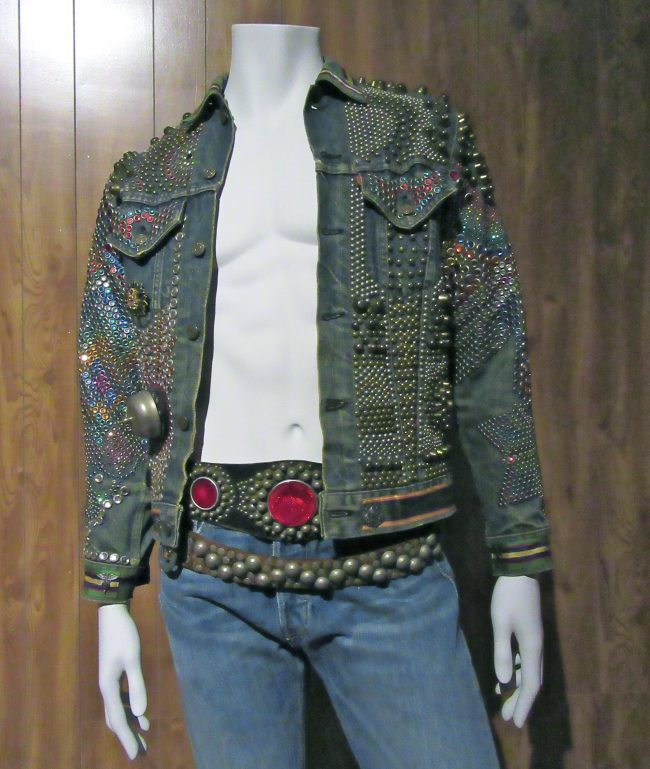 Studded Levis Denim Jacket